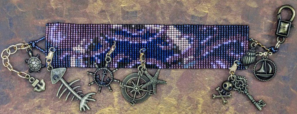 Steampunk - Porthole Bracelet