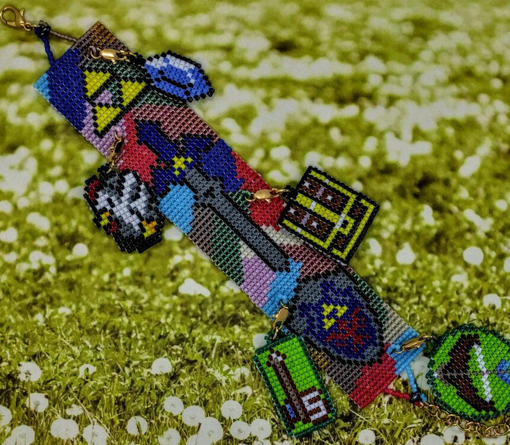 Legend of Zelda Mosaic Bracelet