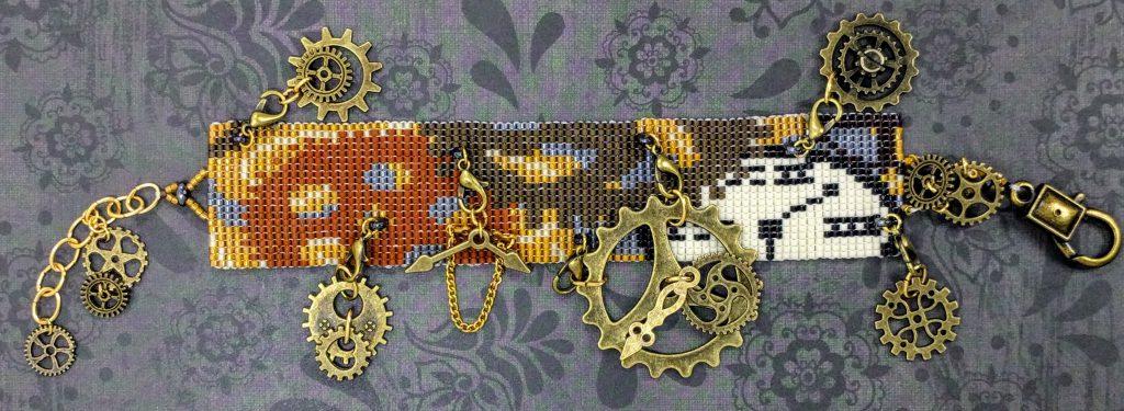 Steampunk - Gears Bracelet